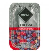 Джем Rioba Лесная ягода порционный, 20х20г