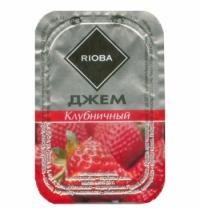 Джем Rioba Клубника порционный, 20х20г