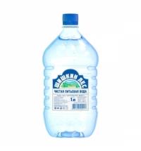 Вода Шишкин Лес 1 литр негазированная, ПЭТ