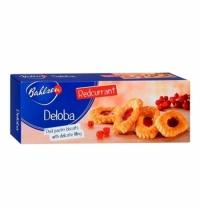 Печенье Bahlsen Deloba слоеное с красной смородиной 100г