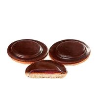 Печенье Кинельский Кондитер вишня в темной глазури, 1.2кг
