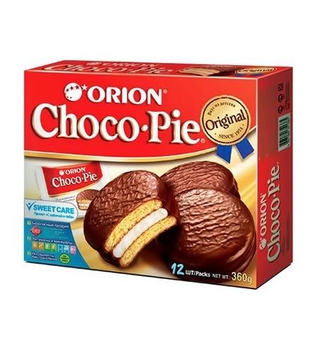 фото: Бисквит Orion Choco-Pie 360г 12шт