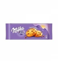 Печенье Milka Choco Cookies с кусочками шоколада 168г