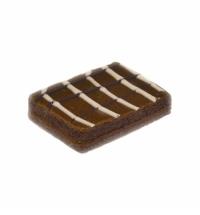 Печенье Русское Печенье Полоска Миндальная в шоколадной глазури 1.5кг