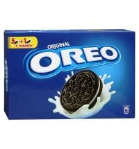 Печенье Oreo с ванильной начинкой 228г