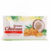 Печенье Полет с кокосом 250г