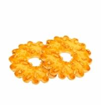 Печенье Дымка Кольцо с дроблёным арахисом 2.4кг