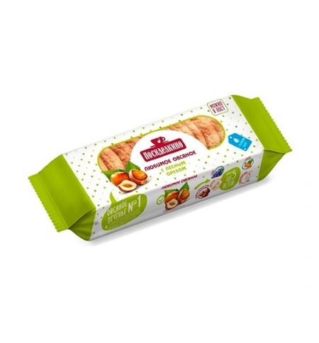 фото: Печенье Посиделкино Овсяное с лесным орехом, 300г