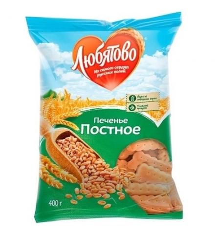 фото: Печенье Любятово постное 300г