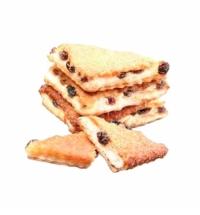 Печенье Пекарь Лакомка творог с изюмом 2кг