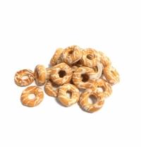 Печенье Баттерфляй Колечки в белой глазури 1.4кг