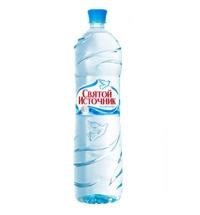 Вода Святой Источник 1.5 литра без газа, ПЭТ