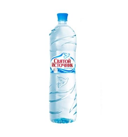 фото: Вода Святой Источник 1.5 литра без газа, ПЭТ