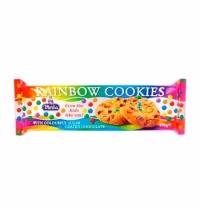 Печенье Merba Rainbow cookies с цветным драже и кусочками шоколада 150г