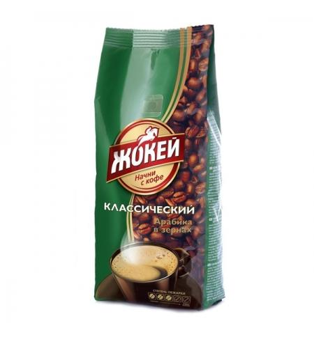 фото: Кофе в зернах Жокей 500г пачка