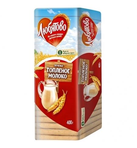 фото: Печенье Любятово топленое молоко 400г