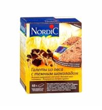 Галеты Nordic овсяные с шоколадом 300г