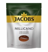 Кофе растворимый Jacobs Monarch Millicano 75г пакет