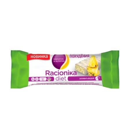 фото: Диетический батончик Racionika Diet для коррекции веса 60г, ананас в белой глазури