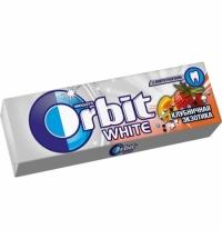 Жевательная резинка Orbit клубника 10шт