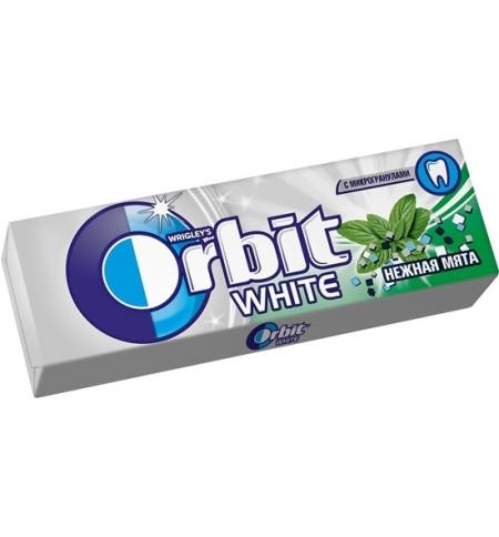 фото: Жевательная резинка Orbit нежная мята 10шт
