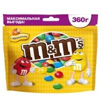 Драже M&m's с арахисом 360г