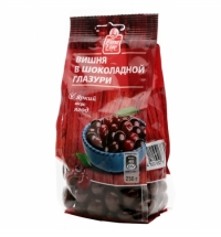 Драже Fine Life вишня в шоколадной глазури 250г