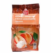 Драже Fine Life абрикос с миндалем в белой глазури 350г