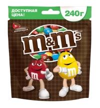 Драже M&m's Maxi с молочным шоколадом 240г