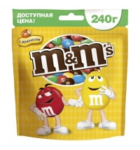Драже M&m's Maxi с арахисом 240г