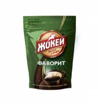 Кофе растворимый Жокей Фаворит 150г пакет