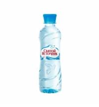 Святой Источник 0.5 л вода негазированная, ПЭТ