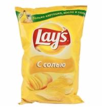 Чипсы Lays натуральная соль 150г