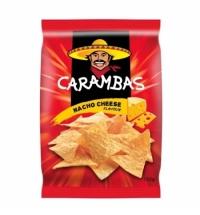 Чипсы Carambas кукурузные сыр 150г