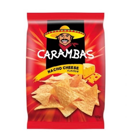 фото: Чипсы Carambas кукурузные сыр 150г