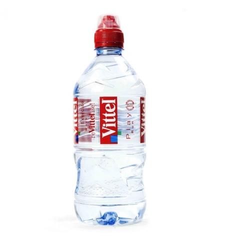 фото: Вода минеральная Vittel Спорт без газа 750мл х 6шт, ПЭТ
