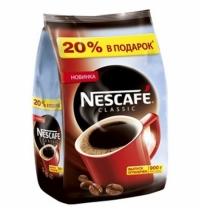 Кофе растворимый Nescafe Classic 900г пакет