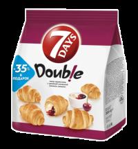 Мини-круассаны 7 Days Double ваниль/ вишня 300г