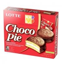 Печенье Lotte Choco-Pie 336г 12шт/уп