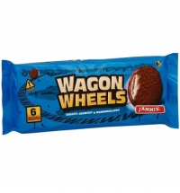 Печенье Wagon Wheels с джемом 216г