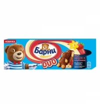 Бисквит Медвежонок Барни клубника-ваниль 5х30г