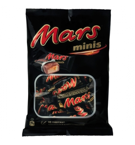 фото: Батончик шоколадный Mars Minis 180г