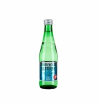 Новотерская минеральная вода с газом 0,33 мл, стекло