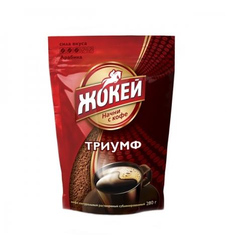 фото: Кофе растворимый Жокей Триумф 280г пакет