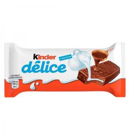 фото: Бисквит Kinder Delice шоколадный 42г