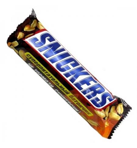 фото: Батончик шоколадный Snickers 50.5г