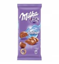 Шоколад Milka молочный пористый 80г