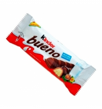 Батончик шоколадный Kinder Bueno вафельный 43г