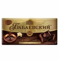 Шоколад Бабаевский темный с ванилью 180г