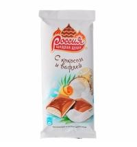 Шоколад Россия кокос-вафля 90г